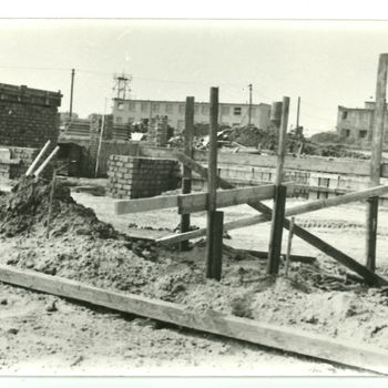 CONSTRUCTION OF SVUI AREA IN PRAGUE -  LYSOLAJE 1966